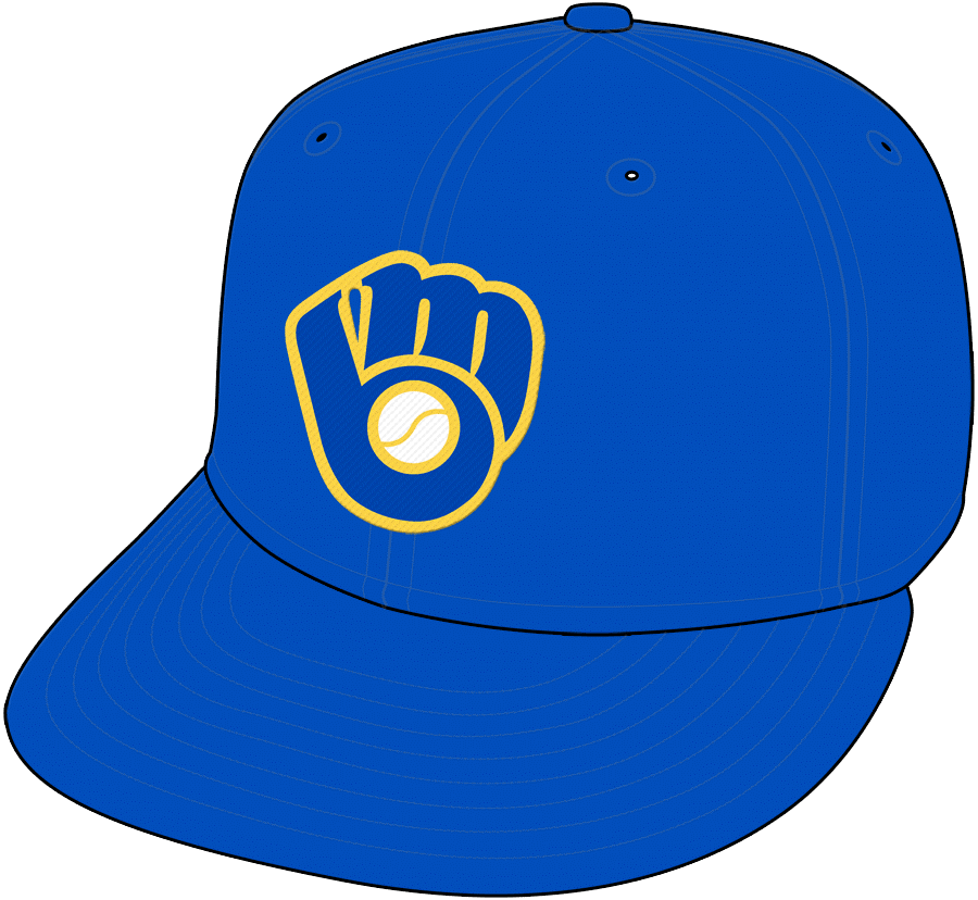 b6463f092 Here we go! Finally some sense has been knocked into someone! Hands down  the best logo ever and its back in Miller Park on the ball players uniforms.